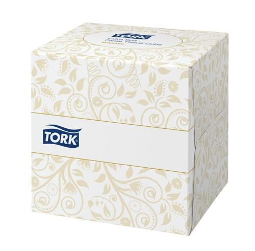 Lotus Facial Tissues Cube Peach Box 2 Ply 90 Sheets White Code E02157D