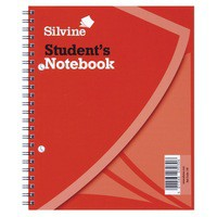 Image for Silvine Student Sprl Notebook 138