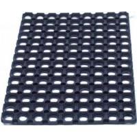 Image for Floortex Door Mat Indoor and Outdoor Rubber 600mmx800mm Black
