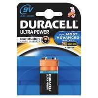 Image for Duracell Ultra Power MX1604 Battery Alkaline 9V Ref 81235531