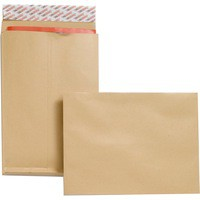 New Guardian Mini Pack Envelopes 25mm Gusset 130gsm C4 Manilla Ref F27666 [Pack 25]