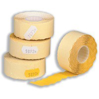 Avery Labels for Labelling Gun 2-Line Removable White 16x26mm 1200 per Roll Ref WR1626 [Pack 10]