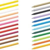 Bic Kids Plastidecor Crayons Colour Hard Long-lasting Sharpenable Vivid Assorted Code 829772