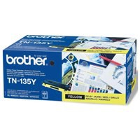Image for Brother Laser Toner Cartridge Page Life 4000pp Yellow Ref TN135Y