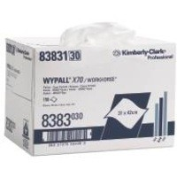 Image for Wypall X70 Brag Box Cleaning Wipers Approx. 150 Cloths Ref 8383