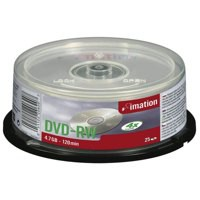 Image for Imation DVD-RW Rewritable Disk on Spindle 4x Speed 120min 4.7GB Ref i21063 [Pack 25]