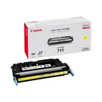 Canon 711Y Laser Toner Cartridge Page Life 6000pp Yellow [for LBP-5360] Ref 1657B002