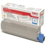Oki Laser Toner Cartridge Cyan Code 43324423