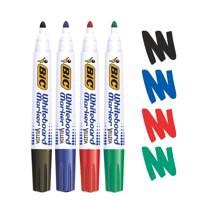 Image for Bic Velleda 1701/1704 Whiteboard Marker Bullet Tip Line Width 1.5mm Assorted Ref 1199001704 [Pack 4]