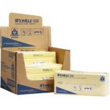 Wypall X50 Cleaning Cloths Absorbent Strong Non-Woven Tear-Resistant Yellow Pack 50 Code 7443