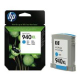 HP No.940XL Officejet Inkjet Cartridge Cyan Code C4907AE
