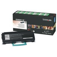 Lexmark E360/460 High Yield Return Program Toner Cartridge Black Code E360H11E