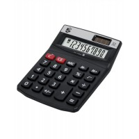 Image for 5 Star Calculator Desktop Solar/Battery Power 12 Digit 2 Set Memory 91x125x11mm Ref DT12D