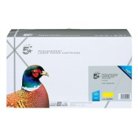 5 Star Compatible Laser Toner Cartridge Page Life 4000pp Yellow [HP No. 502A Q6472A Alternative]