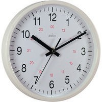 Image for Acctim Metro 12 inch Wall Clock White 21162