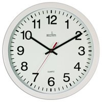 Image for Acctim Controller 368mm Black Wall Clock