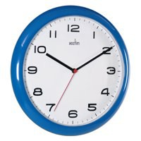Image for Acctim Aylesbury Wall Clock Blue 92/308