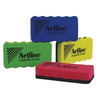 Image for Artline Magnetic Whiteboard Eraser Pk4