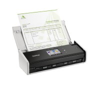 Image for Brother White ADS-1600W Wireless Compact Document Scanner ADS1600WZU1