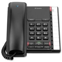 Image for BT Converse 2200 Corded Telephone Black 040208