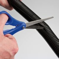 Image for D-Line Black Flexi Tube Cable Tidy 25mm