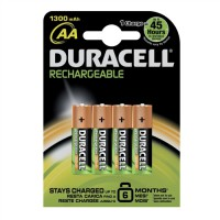Image for DURACELL RECHARGE BATTERY NIMH AA PK4