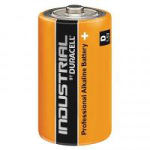 Duracell Industrial D Alkaline Batteries 81451917 (Pack of 10)
