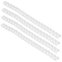 Image for Acco GBC A4 10mm 21-Loop Wires US Pitch White Pack of 100 IB165085