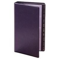 Image for Goldline Business Card Holder Stitched Cover Black Capacity 128 SBCB4/BLK