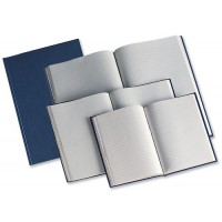 Image for Manuscript Book Casebound 70gsm Ruled 190 Pages A5 [Pack 5]