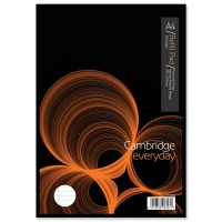 Image for Cambridge Refill Pad A4 Punched 4-Hole Ruled Narrow Feint and Margin Head Bound E76794