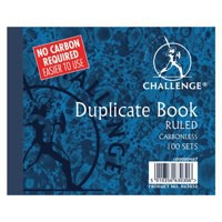 Image for Challenge Duplicate Book Carbonless Ruled 100 Sets 105x130mm Ref 100080487 [Pack 5]