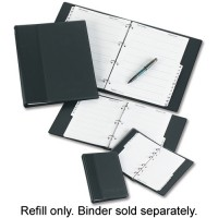 Image for Concord Telephone/Address Binder Refill A5 A-Z White 80501/CD2A