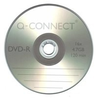 Image for Q-Connect DVD-R 4.7GB Cake Box Pk25