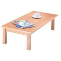 Image for Arista Rectangular Reception Table 1100x600mm Beech