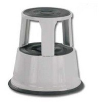Image for Q-Connect Metal Step Stool Light Grey