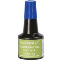 Image for Q-Connect Endorsing Ink 28ml Blue