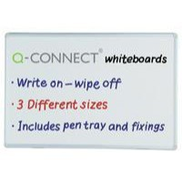 Image for Q-Connect Dry Wipe Board 900x600mm