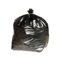 Image for 2Work Extra Heavy Duty Refuse Sacks Black Pack of 200
