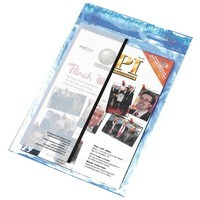 Image for Postsafe Extra-Strong Polythene Envelope 440x320mm DX Clear Peel and Seal Pack of 100 P30