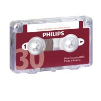 Image for Philips Dictation Cassette 30 minutes LFH0005
