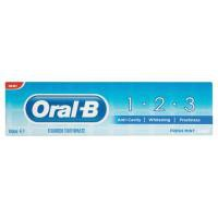 Image for Oral B 123 Toothpaste 100ml (Pack of 12) 81335941