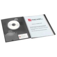 Image for Rexel Clearview Display Book A4 50-Pocket Black 10350BK