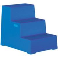 Image for 3 Step Blue Plastic Safety Step
