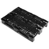 Image for Pallet Plastic 800X1200mm Black 382412