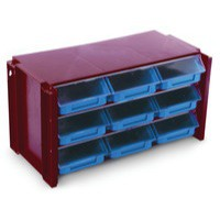 Image for Classifiers Stackable Clear Drawer Unit 382598