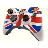 Image for Union Jack Xbox 360 Controller Skin
