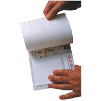Image for Identibadge Self-Seal Laminating Card A6 Pack of 50 SSC6