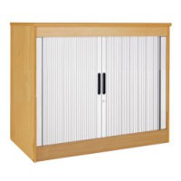 Image for 1200System Storage Tambour Cupb-Oak
