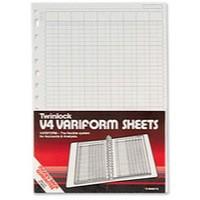 Image for Twinlock Variform V4 5-Column Cash Refill 75931